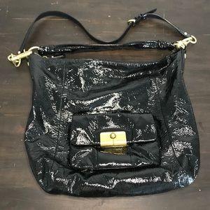 Coach Kristen crossbody patent leather purse
